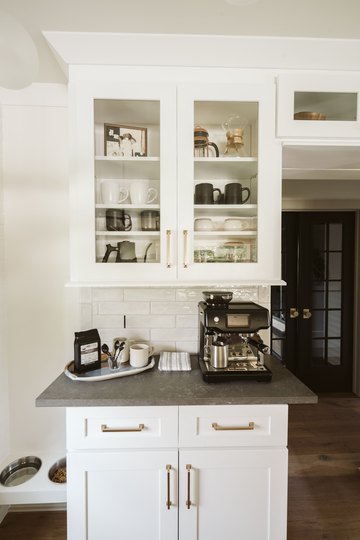 Should I Paint My Kitchen Cabinets Pros Vs Cons In 2020 Coffee Bars In Kitchen Kitchen Cabinets Kitchen Design