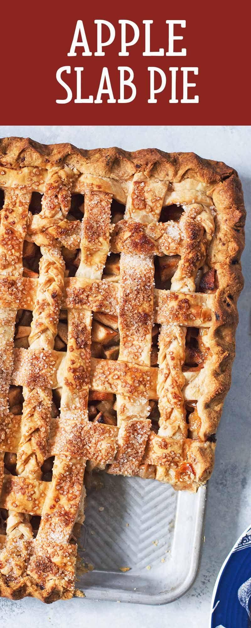 Apple slab pie recipe desserts for a crowd apple slab