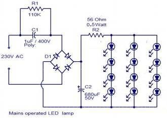 leds from 230v ac led lightning pinterest electronics projectsleds from 230v ac