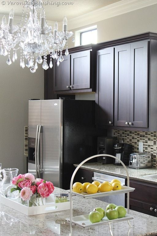 Wonderful Picking The Perfect Gray Paint {Revere Pewter, Benjamin Moore}    Lovely  Kitchen.