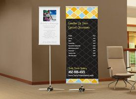I Love The Idea Of A Vertical Banner For Musical Banners Stands