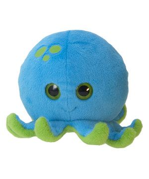 Soft, sweet and oh-so huggable, this plush pal makes a perfect addition to any collection of cuddle buddies. Little ones will get to snuggle their favorite octopus without ever having to get wet.