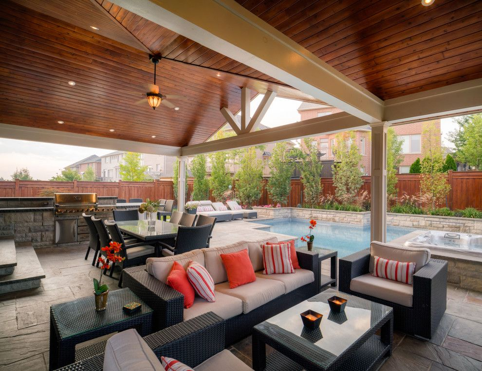 16 Opulent Transitional Patio Designs For The Spring And Upcoming Summer #backpatio