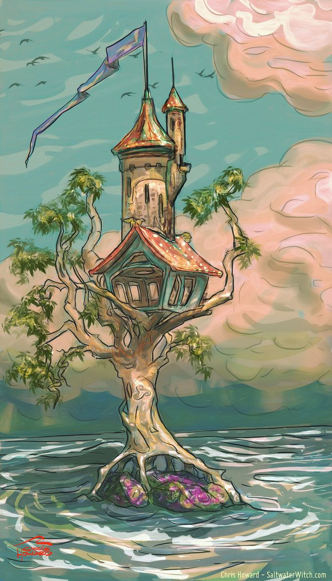 Sea Witch's Winter Home by the0phrastus.deviantart.com on @DeviantArt