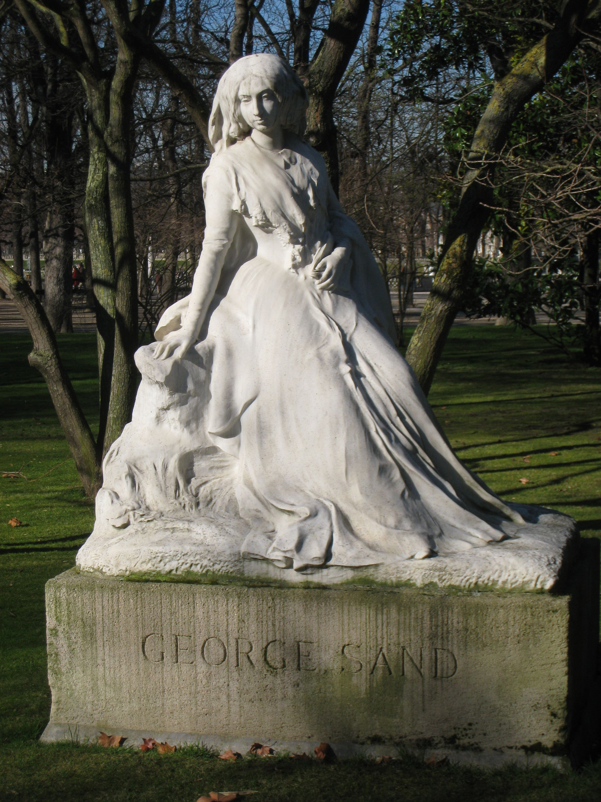 7bf24402cd4c1ba4aefb3417a290a1f9 - The Monument To Chopin In The Luxembourg Gardens