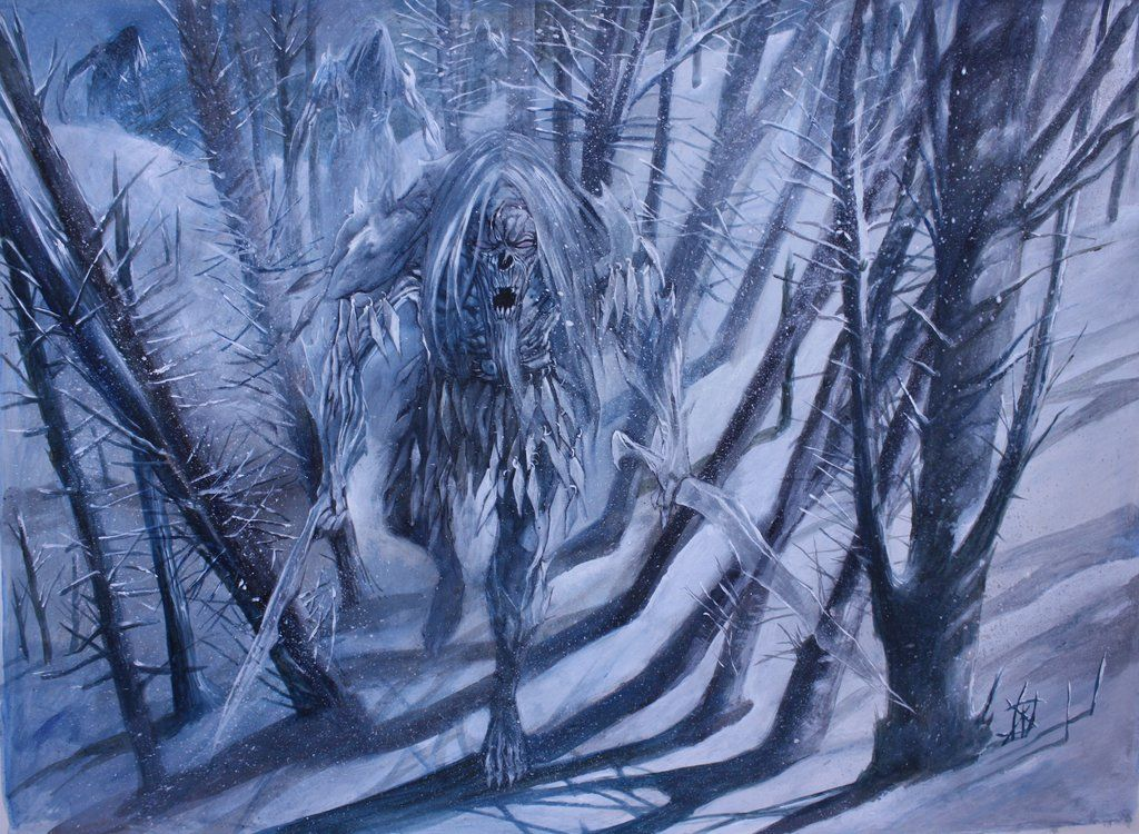The White Walkers by Wiligothic.deviantart.com on @deviantART