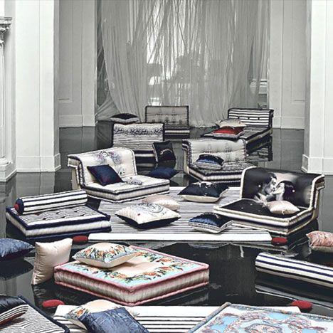 Jean Paul Gaultier Luxury Living Room Interior Design Interior Design Living Room