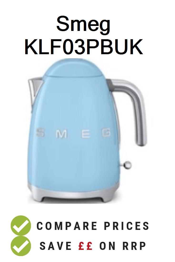 UK Prices. Smeg KLF03PBUK Retro Style