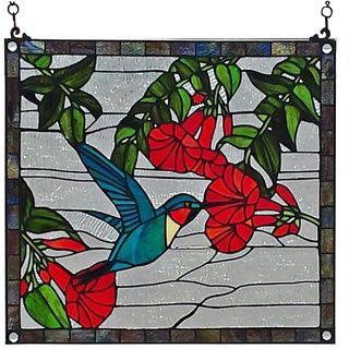 Chloe Tiffany Style Tree Of Life Window Art Gl Panel Ping