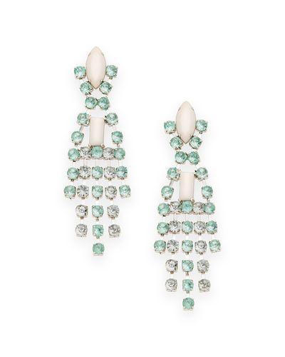 The Crystal Reign Earrings by JewelMint.com, $29.99  LOVE LOVE