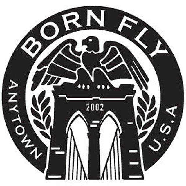 Born Fly Clothing Nastymixx Marketing Promo Logos Clothes