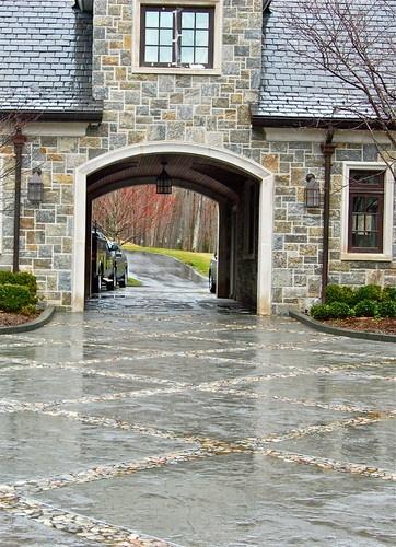 Favorite architectural feature Porte cochere