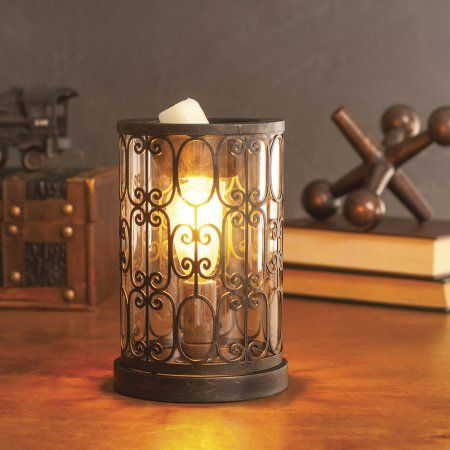 ScentSationals Edison Sienna Full-Size Scented Wax Warmer in