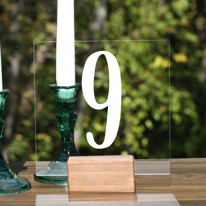 Modern wedding decor images  Custom Acrylic Table Numbers boho table numbers Table Numbers with