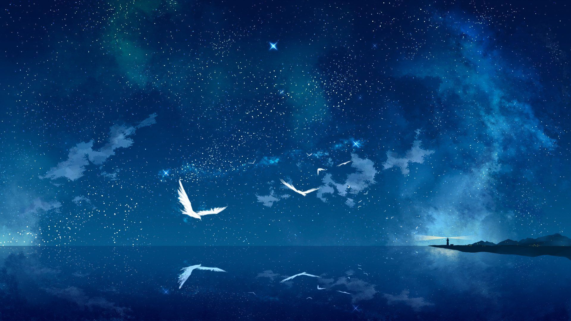 1920x1080 388 Starry Sky Hd Wallpapers Background Images