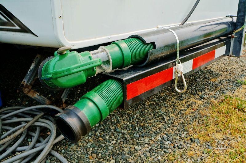 13 RV Sewer Hose Storage Ideas Camper Hacks Hose