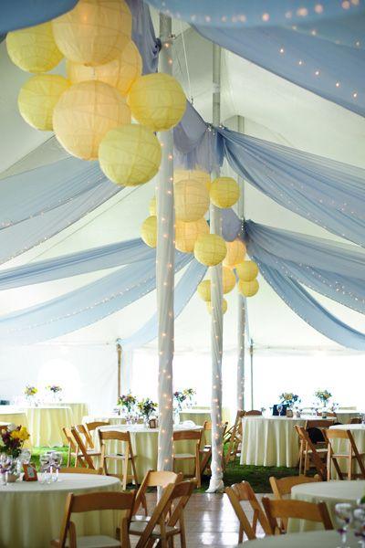 wedding ideascolor: yellow   decora fiestas   techo de boda