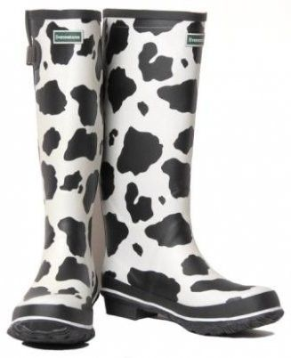 7fc4734391f cow print rain boots they have these at rural king they make me ...