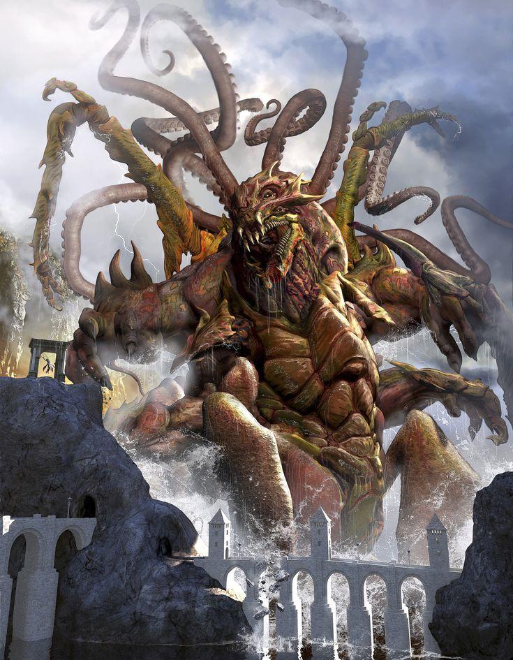 Release the Kraken... Or Not Greek mythological