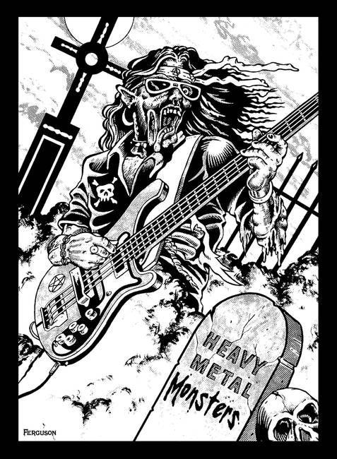 Heavy Metal Guitar Ghoul | HEAVY METAL ARTILLERY | Heavy ...