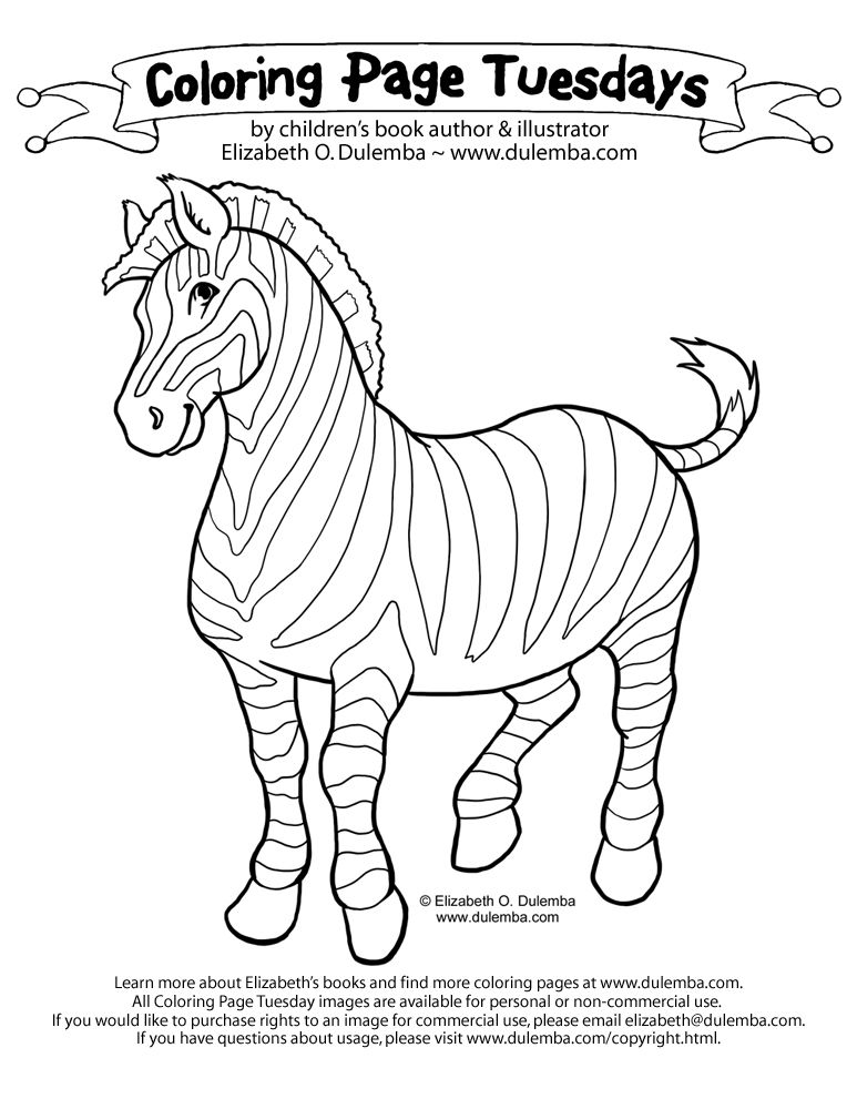 Whimsical Colors Zebra Coloring Pages Coloring Pages Zebras