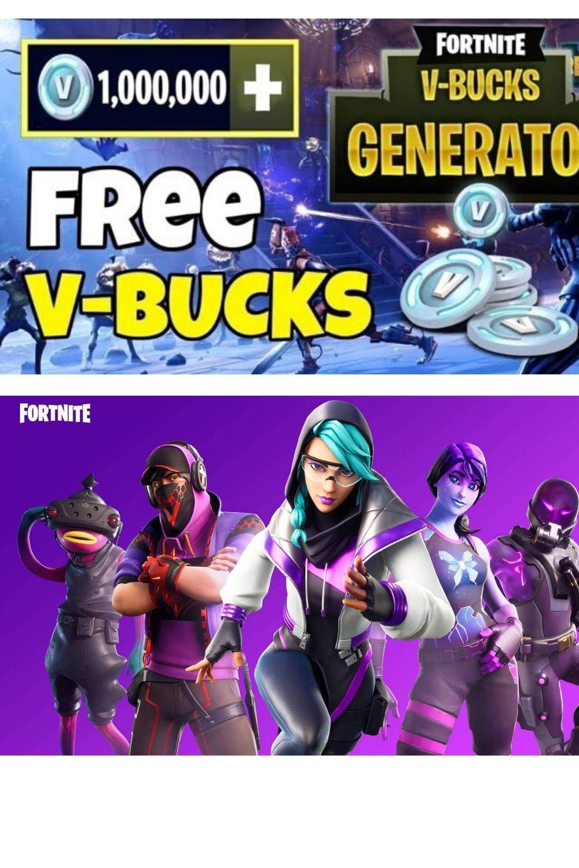 Free v bucks free v bucks generator in 2020 fortnite
