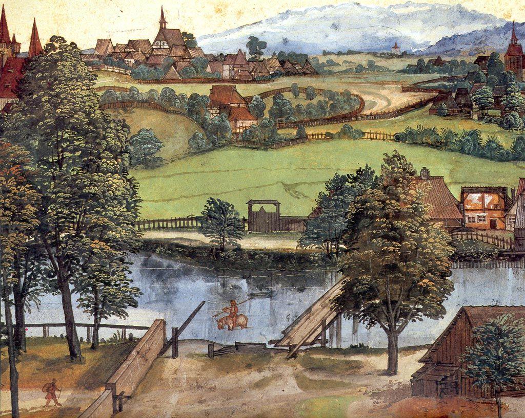 The Trefilería on Peignitz -Albrecht Dürer