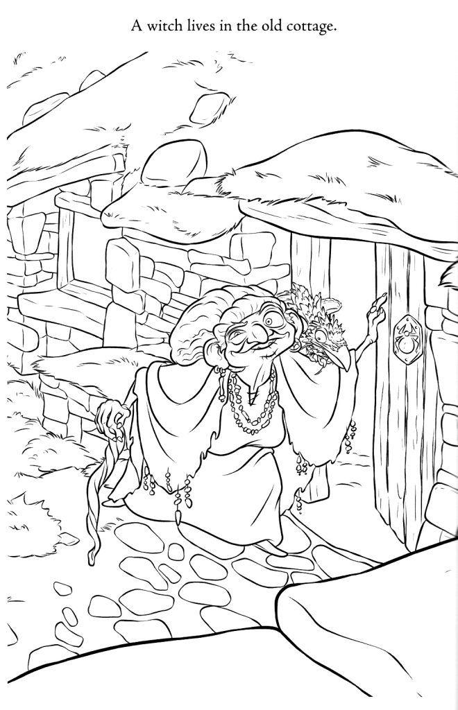 Brave Merida coloring page for kids, disney princess coloring ... | 1024x660