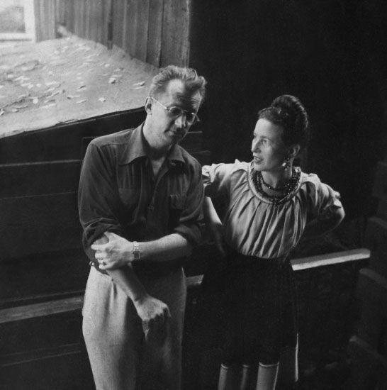 Simone de Beauvoir y Nelson Algren   Simone de beauvoir, Romance ...