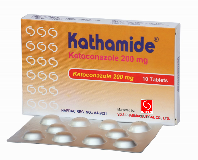 Composition Ketoconazole Tablet 200mg Indication Used To Treat