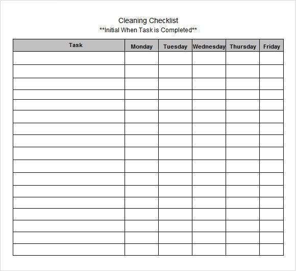 Blank Checklist Template Baeti Regarding Blank Checklist Template Pdf Best Templates Ideas Fo Checklist Template Checklist Business Card Templates Download