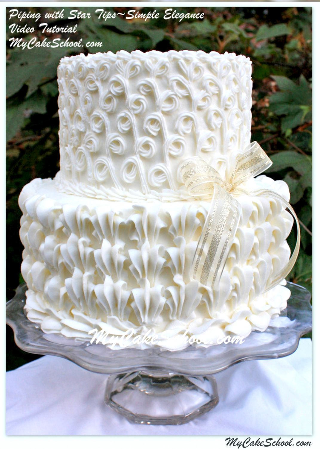 piping designs for wedding cakes piping with a tip a cake decorating tutorial 18606
