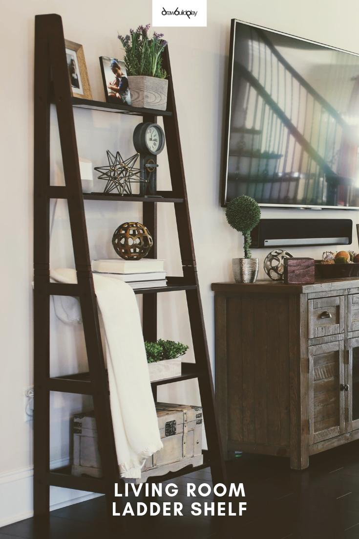Ladder Decor Ideas Living Room