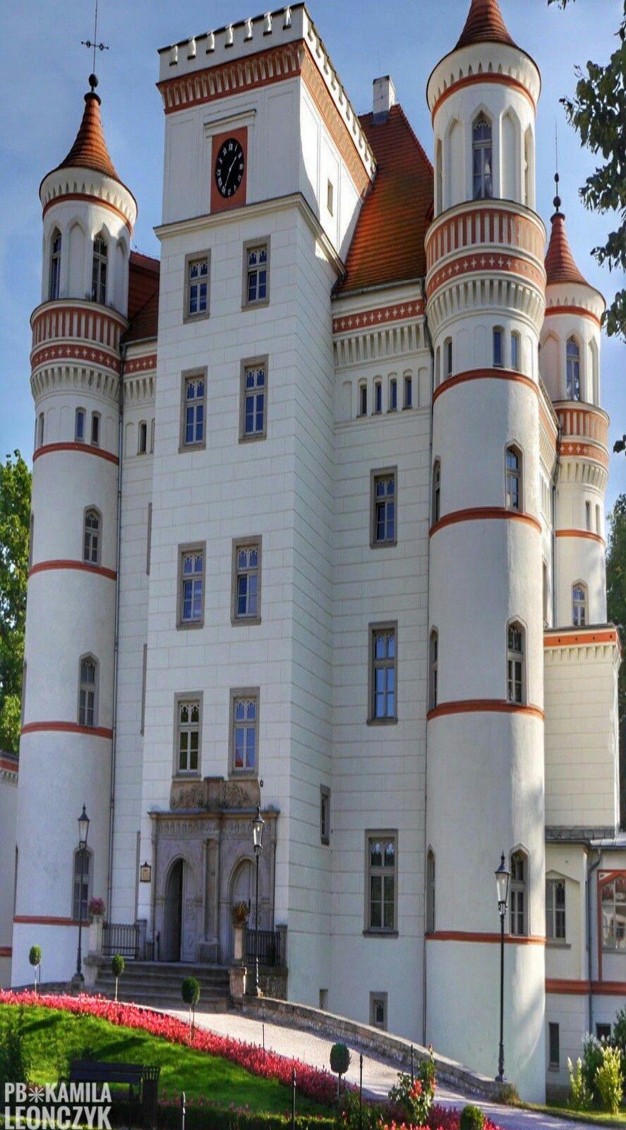 Palace in Wojanów Poland