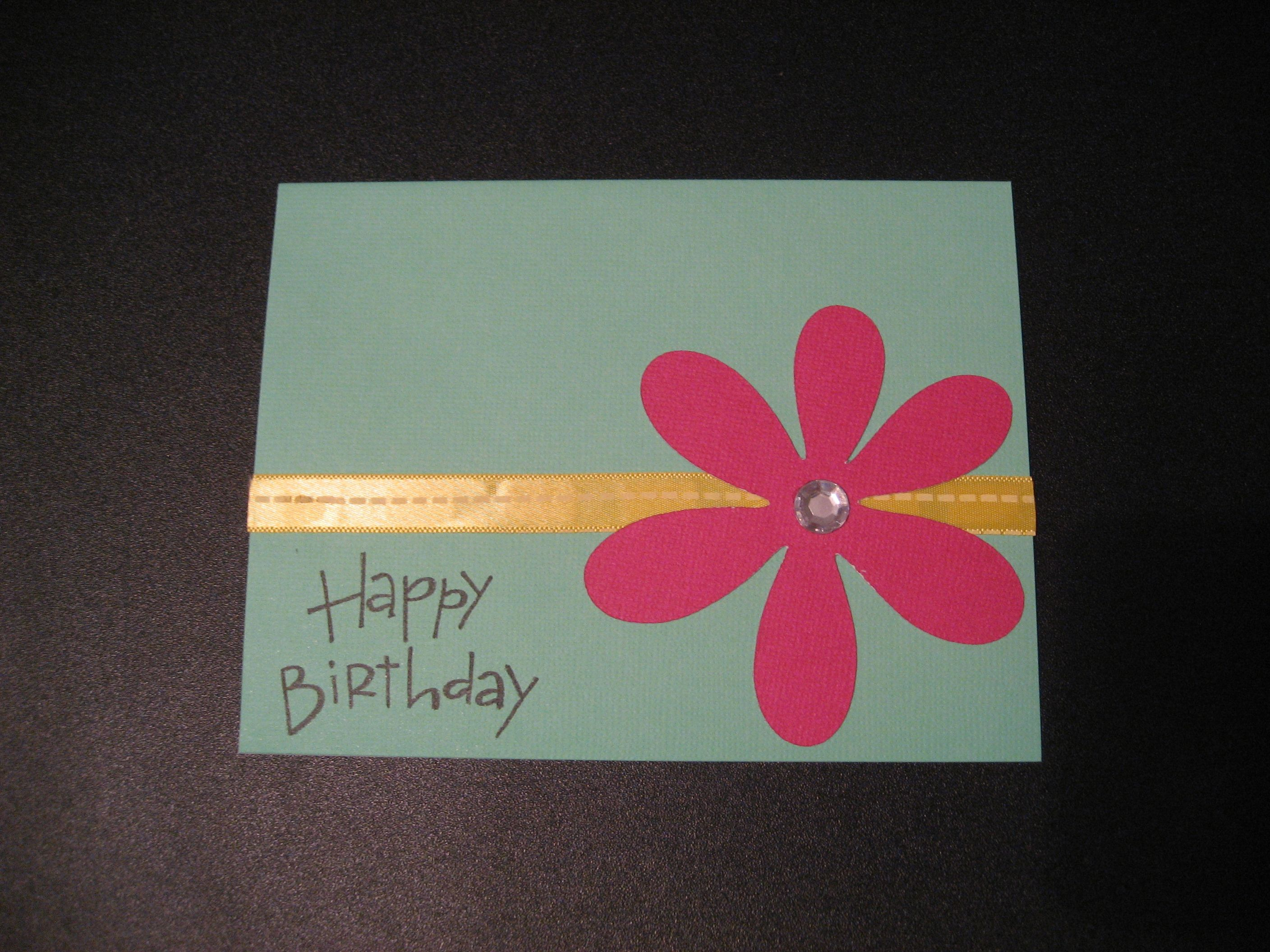 17 Best images about Card ideas – Pictures of Homemade Birthday Cards