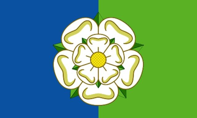 East Riding Flag Yorkshire Flag Yorkshire Rose Yorkshire Day