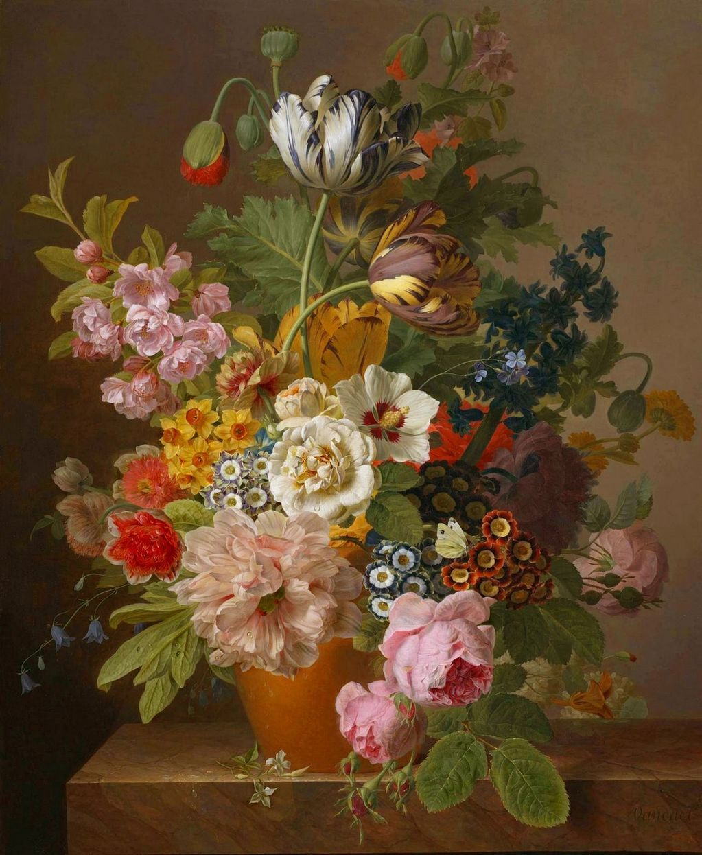 Jan Frans Van Dael (1764-1840) Bouquet | живопись | Pinterest | Vans ...