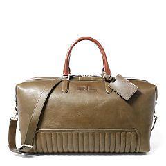 4626d63dc779 Quilted Calfskin Duffel Bag - Ralph Lauren Travel Bags - RalphLauren ...