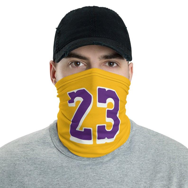 Lebron James Face Mask Washable And Reusable Lakers Face Etsy Kobe Bryant Shirt Lebron James Lakers Lebron James