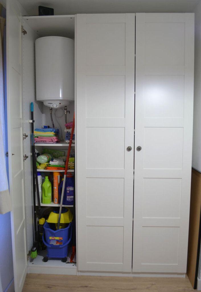 Lavadero para casas peque as lavadero en el armario - Armarios para casas pequenas ...
