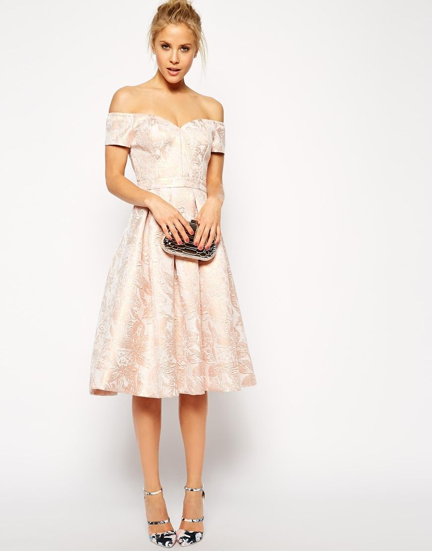 Enlarge ASOS Bandeau Debutante Midi Dress wedding dress?