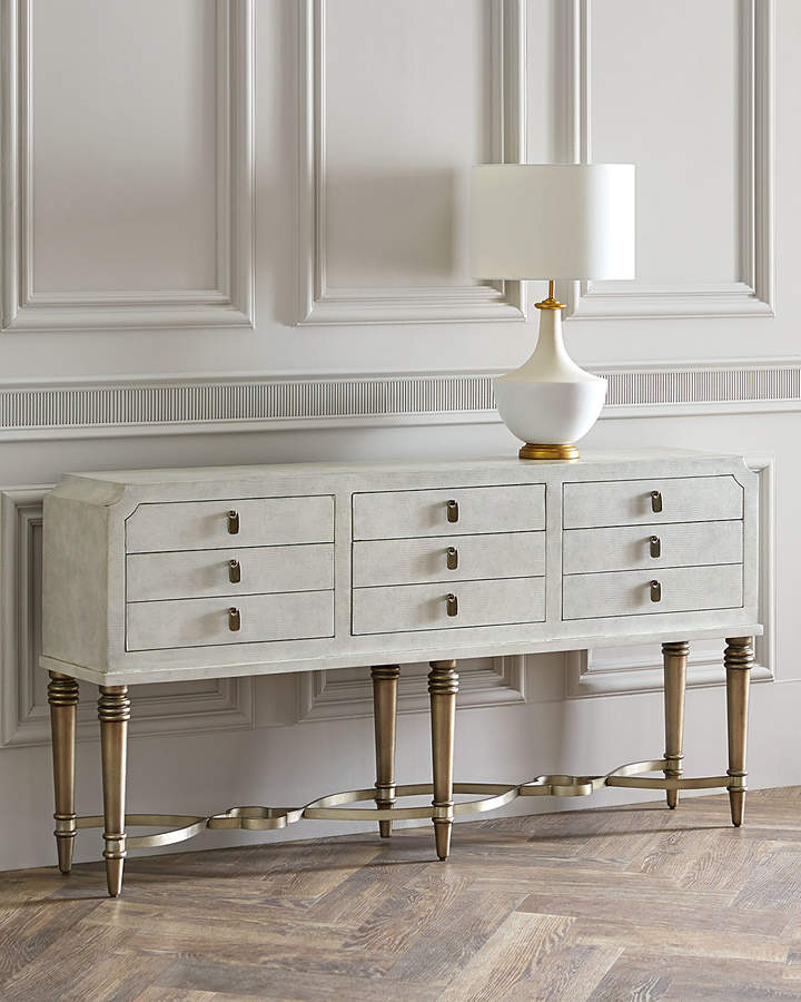 Hooker Furniture Aubree 6 Drawer Console