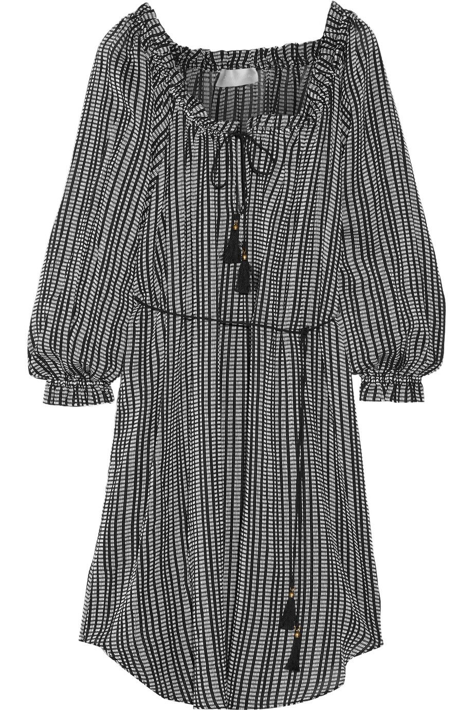 ZIMMERMANN Pavilion Striped Cotton-Gauze Dress. #zimmermann #cloth #dress
