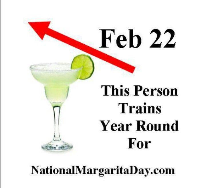 February 22nd ~ National Margarita Day. Espera la fecha angelikius ....tita
