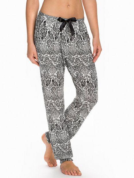 Dahlia Pyjama Pant Lace - Hunkemöller - Svart - Sovplagg - Underkläder -  Kvinna - Nelly.com cb7c0739686a0