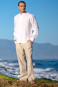 Beach Wedding Linen Pants | Gpant