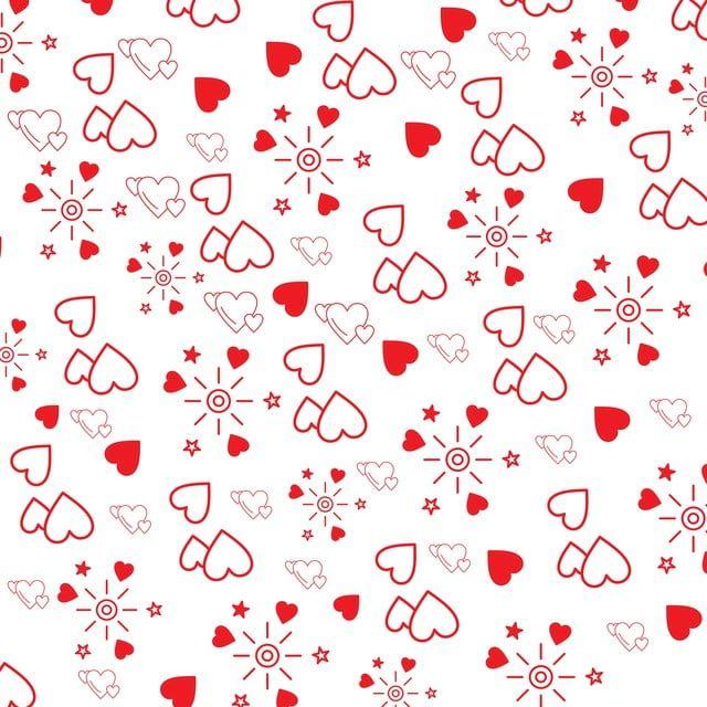 Valentine S Day Heart Pattern Pink Background, Pattern