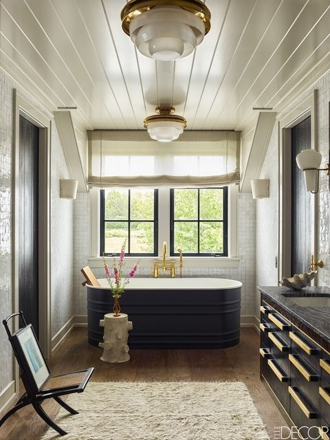 Photo of These Black and White Bathrooms Are the Epitome of Chic