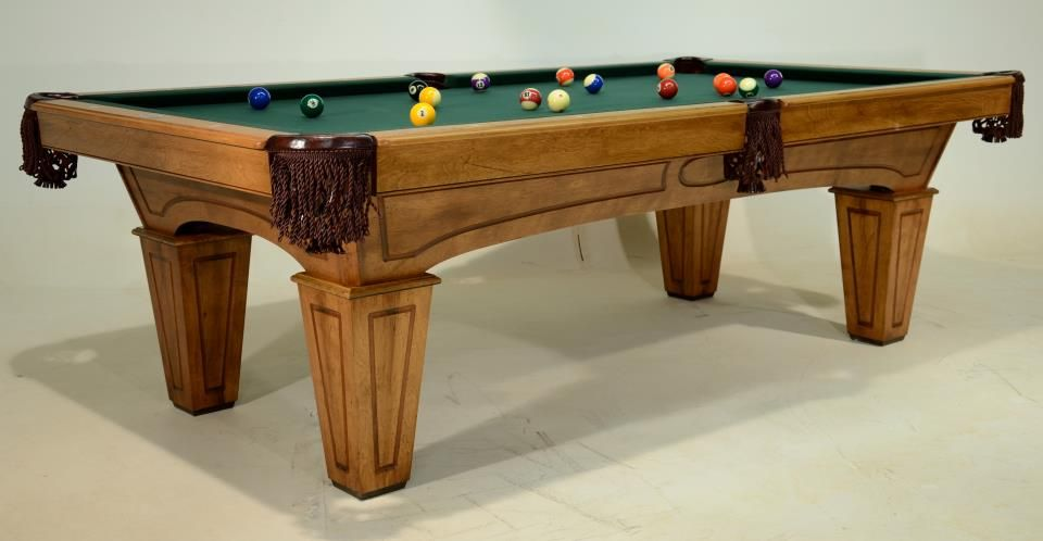 New Golden West Pool Table Making Its Debut For The First Time