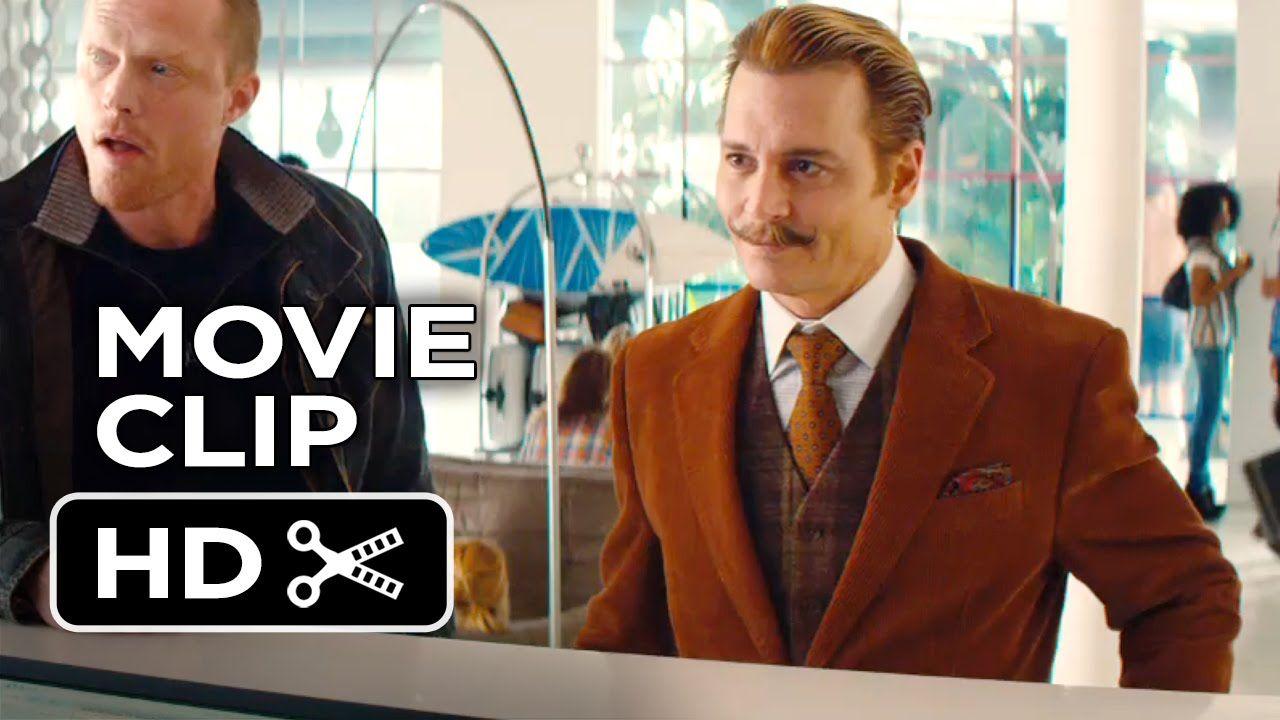 Mortdecai Movie Clip Checking In 2015 Johnny Depp Paul Bettany Movie Hd Johnny Depp Mortdecai Movie Movie Clip